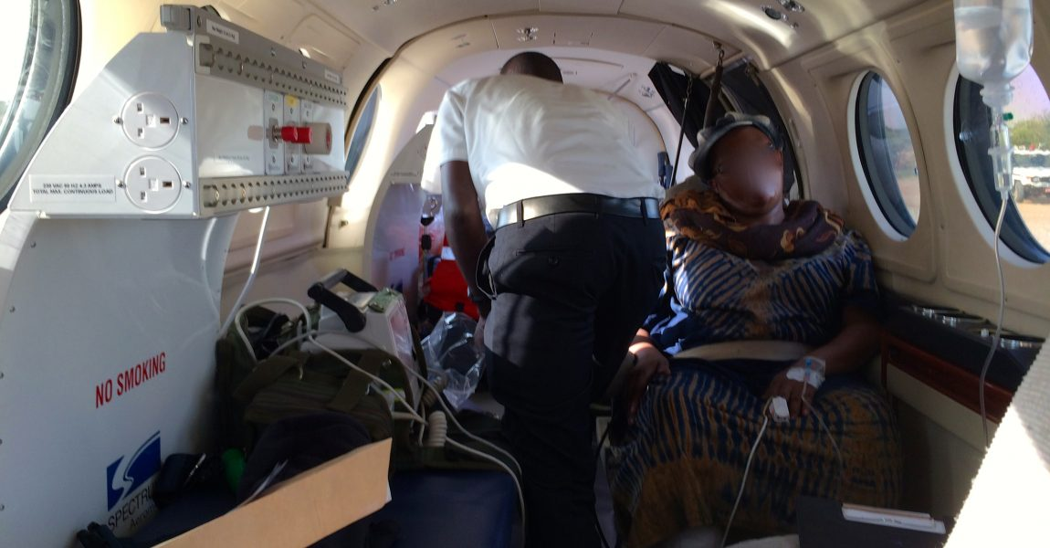 Adventures of a flying Doctor is Africa