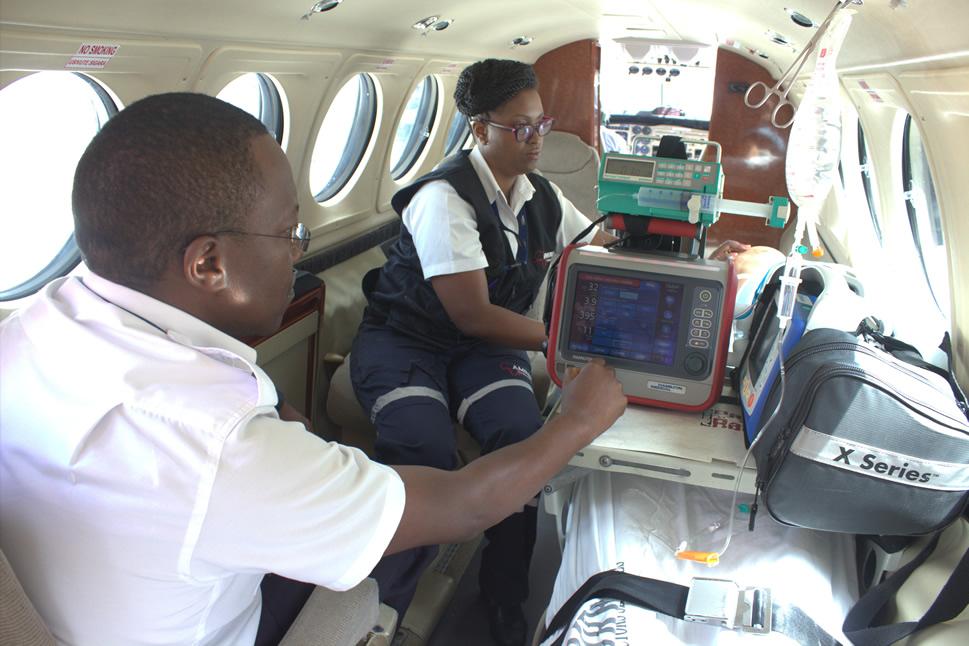 Arranging an Aero-medical Evacuation