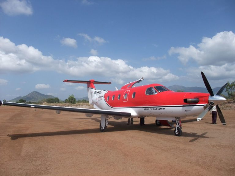 AMREF Flying Doctors Acquires Second PC-12 Aircraft