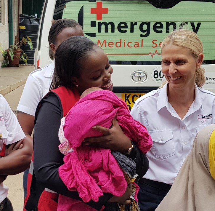 E-Plus in Partnership with AMREF Flying Doctors Rescue a Five Month Baby for Specialized Treatment