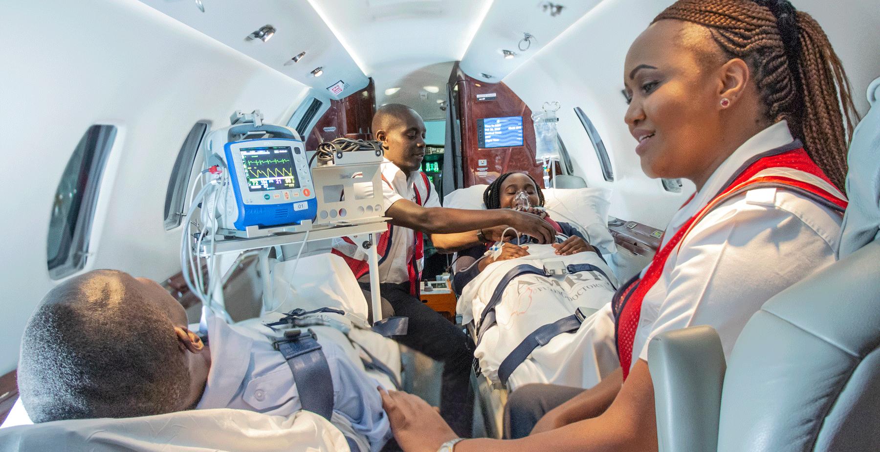 Amref Flying Doctors Air Ambulance Service