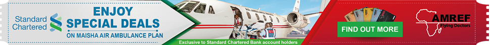 Standard Chartered Bank Amref Flying Doctors Partnership