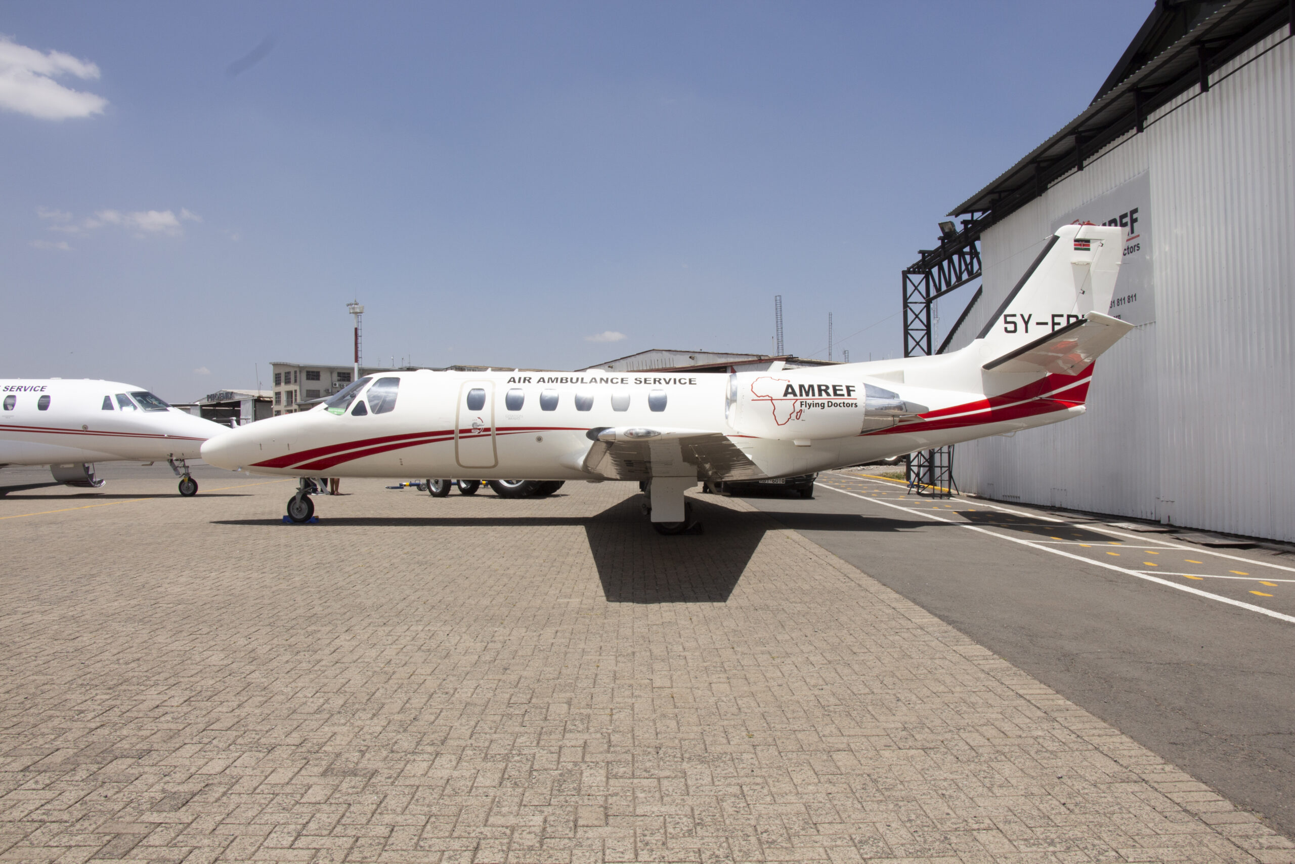 Amref Flying Doctors - Citation Bravo Aircraft model