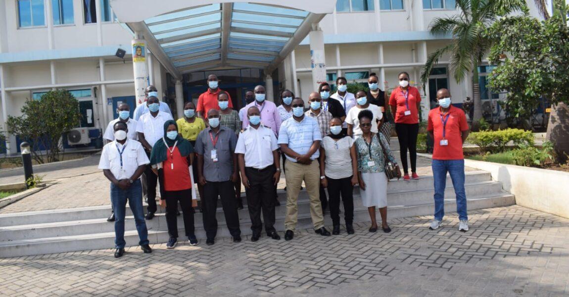 AMREF Flying Doctors - COVID 19 preparedness Training at Mombasa port