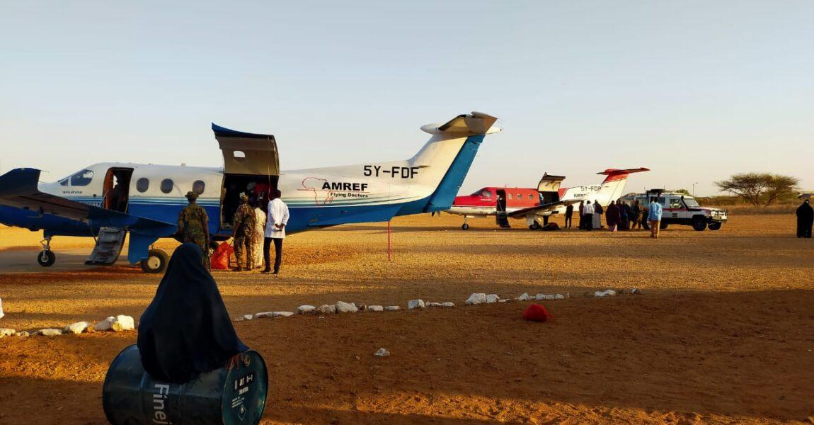 AMREF FLYING DOCTORS EVACUATES MANDERA BUS ATTACK PATIENTS