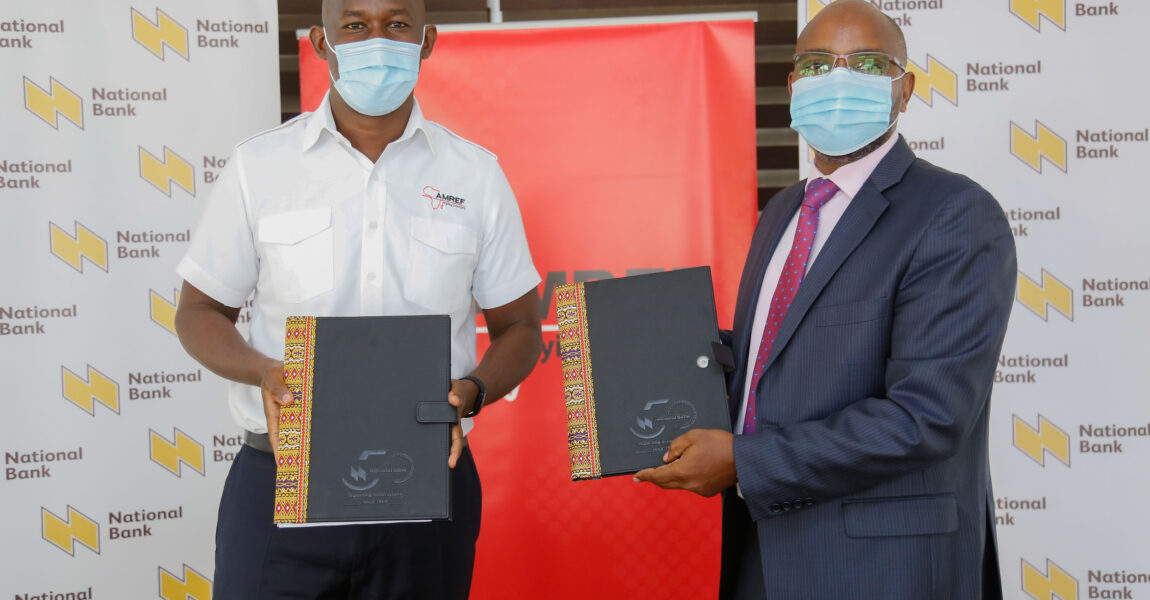 AMREF Flying Doctors partners with National Bank of Kenya to offer the banks's clients emergency evacuation services - Maisha Air Ambulance Plan