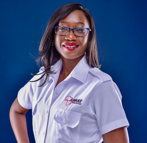 Laura Eva Oliwa is the Human Resource and Administration Manager at AMREF Flying Doctors