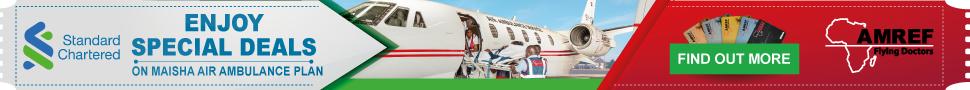 Standard Chartered Bank Amref Flying Doctors Partnership