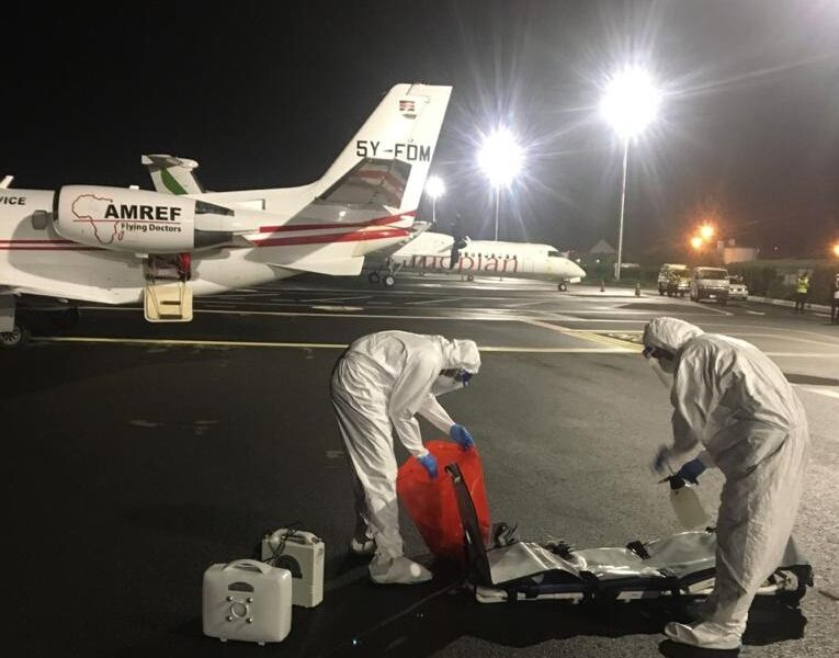 Wing to Wing Medical Repatriation Services in the Height of COVID-19 Pandemic: From Tanzania To South Korea